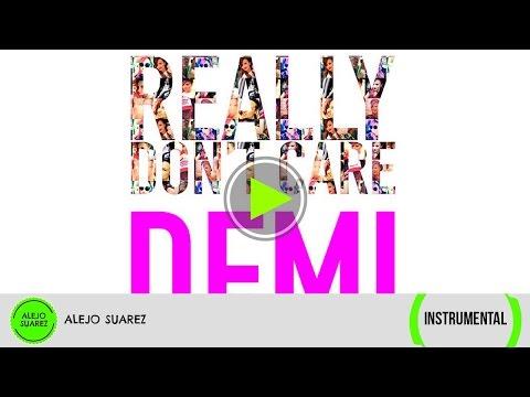 Demi Lovato - Really Don't Care (Instrumental)