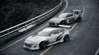 GT-R Drift on Turnpike Hakone Ⅱ | TOYO TIRES