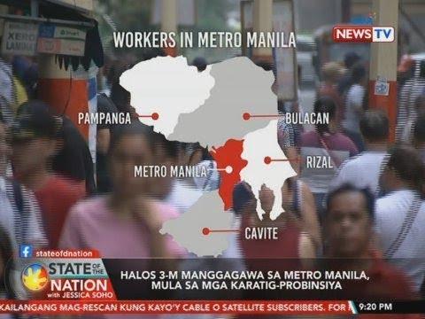 [GMA]  SONA: Halos 3-m manggagawa sa Metro Manila, mula sa mga karatig-probinsiya