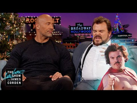 Jack Black & Dwayne Johnson Are Just a Pair of Hairless Wrestlers
