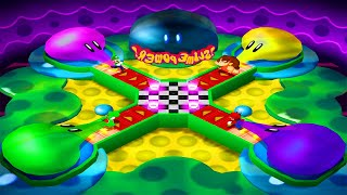 Mario Party 4 - Battle Mode - Mario vs Yoshi vs Luigi vs Donkey Kong