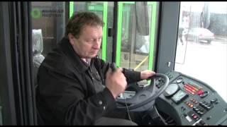 Водители проходят стажировку на новых автобусах марки «ЛиАЗ»