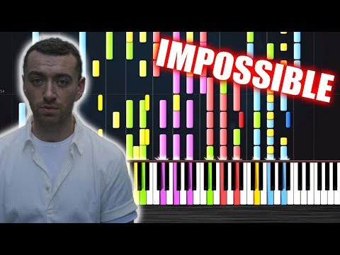 Sam Smith - Too Good At Goodbyes - IMPOSSIBLE PIANO by PlutaX