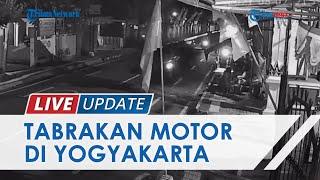 Detik-detik Kecelakaan Adu Kambing di Yogyakarta Libatkan 2 Motor, Korban Tewas di Lokasi