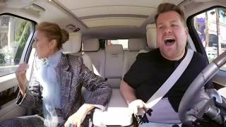 Celine Dion best moments carpool karaoke