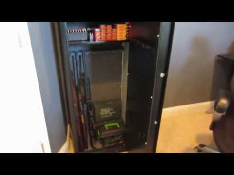 Harbor Freight Tools 59″ Executive safe by Bunker Hill