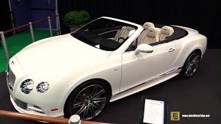 2015 Bentley Continental GTC Speed - Exterior and Interior Walkaround - 2015 Montreal Auto Show