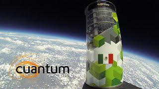 Mexican Space Technology (CanSat) - Earth taken from the stratosphere.