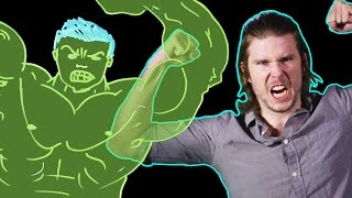 Why is the HULK Green? (Because Science w/ Kyle Hill)