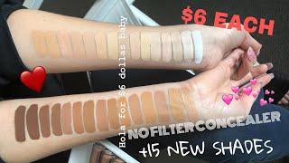 No Filter Matte Full-Coverage Concealer by Colourpop #22