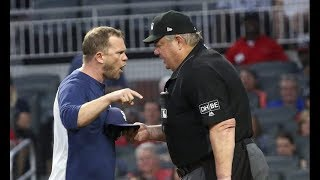 MLB 2018 June July Ejections