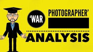 Carol Ann Duffy: 'War Photographer' Mr Bruff Analysis