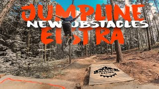 Track Preview | JUMPLINE [FULL RUN] Black Mountain Bikepark ELSTRA - FPV