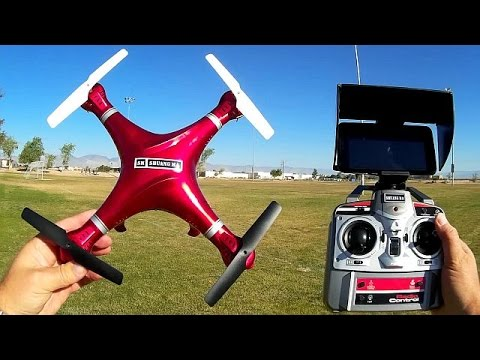 ShuangMa 9138A FPV Drone with Camera Tilt Control Flight Test Review