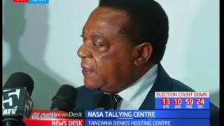 Tanzania denies hosting centre: NASA tallying centre
