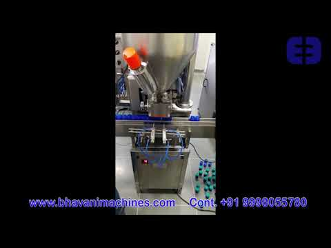 Automatic Balm Filling Machine