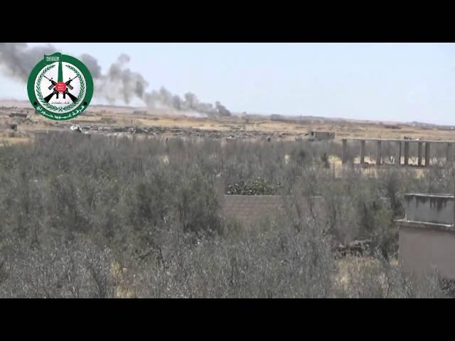 """إسقاط طائرة""""ميغ"""" للنظام السوري بريف درعا جنوب سوريا"""