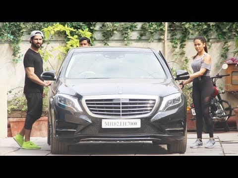 Shahid Kapoor and Mira Rajput hitting the gym together are giving us major couple goals