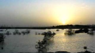 preview picture of video 'Amazing result of rainfall in Kuwait.'