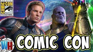 SECRET Avengers 4 and Captain Marvel Panel at Comic Con 2018?!?