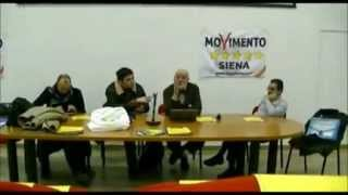 preview picture of video 'Rapolano Terme- incontro con la cittadinanza dei candidati del Movimento 5 Stelle'