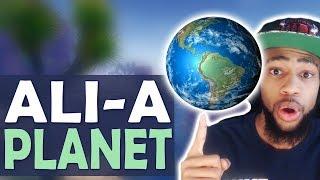 DAEQUAN TV SHOW   ALI A PLANET | TROLLING   (Fortnite Battle Royale)
