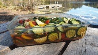 Номер 1 закуска для пикника за 5 минут / Вкусные и хрустящие овощи !