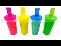Ice Cream Clay Slime Surprise Toys for Children Learn Colors