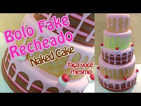 Bolo Recheado (fake)