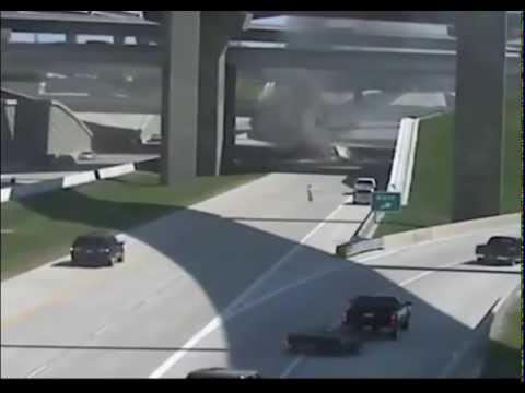 Truck Jump over the bridge