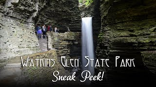 VIDEO SNEAK PEEK: Watkins Glen State Park