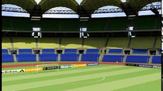 preview picture of video 'Cabinet 2G: Stade de Libreville'