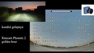 Runcam phoenix 2 sunset footage | 10inch quad | 27min flight time | OSD