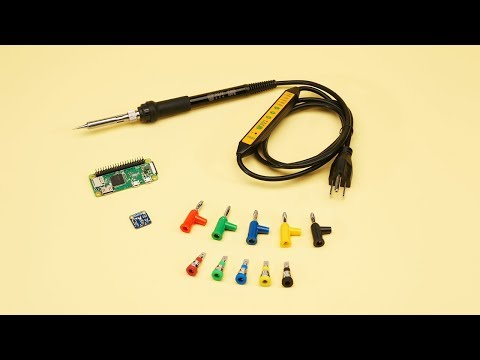 Raspberry Pi Zero WH (Zero W with Headers) ID: 3708 - $14 00