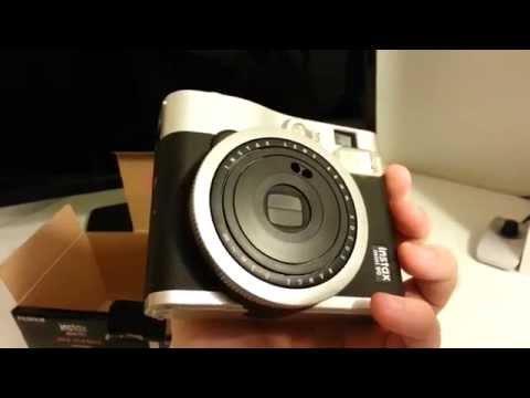 Instax Mini 90 Neo Classic - Unboxing