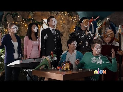 """Power Rangers Dino Super Charge - Christmas Final Scene 