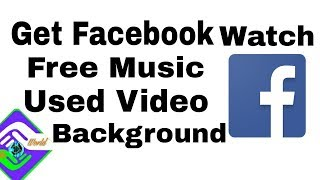 How to Facebook make free background free music sound collection