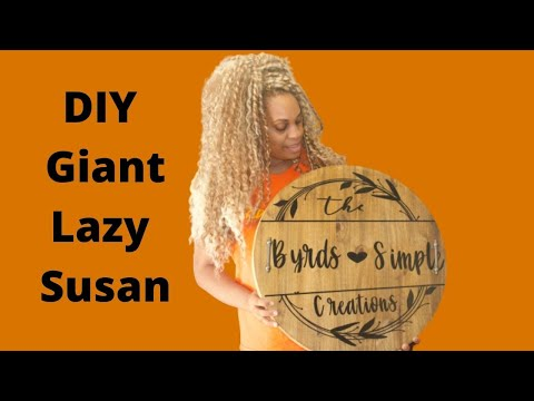 DIY| Lazy Susan for a Center Piece| 2020