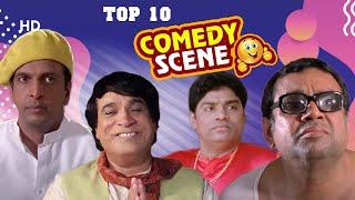 Top 10 Comedy Scenes   Paresh Rawal   Akshay Kumar Arshad Warsi   Johnny Lever   Rajpal Yadav