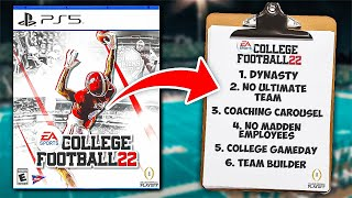 How to make the NEW NCAA Game AMAZING