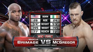 UFC Debut: Conor McGregor vs Marcus Brimage | Free Fight