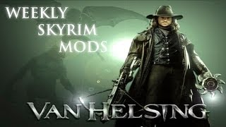 Weekly Skyrim Mods: Van Helsing Crossbow, Inquisitor Armor Compilation