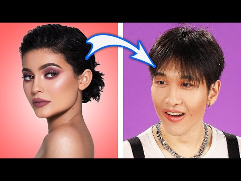 Men Try Recreating Kylie Jenner's Makeup Routine