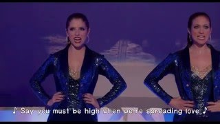 Pitch Perfect 2 - Kennedy Center Performance (Lyrics) 1080pHD