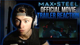 Vapor Reacts 47  Max Steel Official Trailer 1 2017  Superhero Movie REACTION