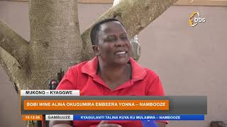 Omubaka Nambooze Aggumiza Bobi Wine Ku Bimutusibwako Gavumenti Ne Poliisi