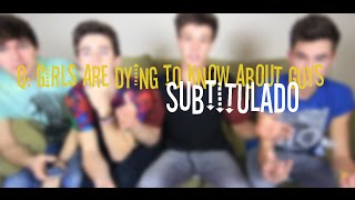 Questions Girls Are Dying To Know About Guys (Subtitulado)
