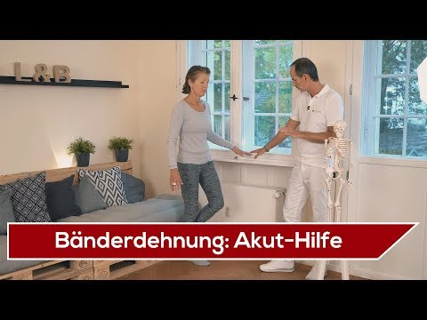 Video therapeutische Massage des Schultergelenks
