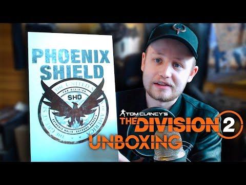 THE DIVISION 2 PHOENIX SHIELD EDICE ZA 5999 Kč UNBOXING