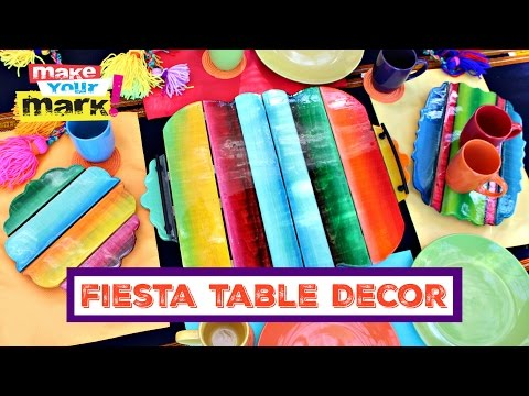 Unicorn  SPiT: How to: Fiesta Table Decor